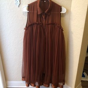 Dresses & Skirts - Adorable brown dress